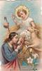 ITALIE JÉSUS LE PELERIN L'AGNEAU - Images Religieuses