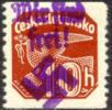 Reichenberg-Maffersdorf Michel #59 Mint Never Hinged Overprinted Czech Stamp, Expertized - Occupation 1938-45
