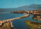 """Corse - SAINT-FLORENT. - L'embouchure De L""""Aliso Et La Ville. Ed. La Cigogne. N° 20.298.52. Voyagée 1971. - Unclassified"""