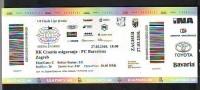 Tickets - Vouchers, Handball, RK Croatia Osiguranje Zagreb-FC Barcelona - Tickets D'entrée