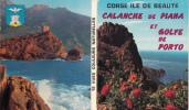 """Corse - Calanche De Piana Et Golfe De Porto. Carnet De 12 Vues. Ed. """"MAR"""", Nice - France"""