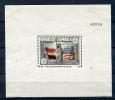 Spain 1938 Sc 585 Mi Block 3 MH  CV 40 Euro Liberty - 1931-Today: 2nd Rep - ... Juan Carlos I