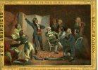 CHROMO AUX AMANDIERS..LES MUSEES DE PARIS EN MINIATURE..ROUGET DE LISLE.. ... - Trade Cards