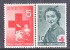 Japan 554-5    *  RED  CROSS - 1926-89 Emperor Hirohito (Showa Era)