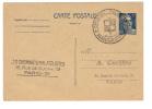 ENTIER POSTAL 5F EXPOSTION PHILATELIQUE PARIS 1947