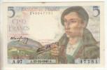 Billet De 5 Francs Berger A97 Du 23.12.1943 SUP - 5 F 1943-1947 ''Berger''