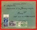 POLOGNE LETTRE DE 1937 DE VARSOVIE POUR PARIS FRANCE COVER - 1919-1939 République