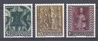 Série  N° 350 à 352  Neufs *  - Cote : 17,50 € - Liechtenstein