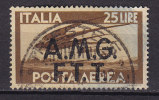 Italy Triese Zone A (AMG FTT) 1947 Mi. 22      25 L Airmail Flugpostmarke Overprinted - 7. Triest