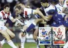 Australia 2008 Centenary Of Rugby League 50c Bulldogs V Dragons Maximum Card - Maximum Cards