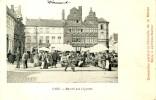 Gent / Gand - Marché Aux Légumes  -1902 ( Scan Zien ) - Gent