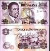 BOTSWANA 5 PULA P 11 UNC - Botswana