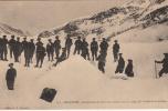 05 - Dauphiné - Campement De Chasseurs Alpins Sous La Neige - Haute Vallée De La Clairée - Editeur: L.P N° 821 - Autres Communes