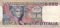 **** ITALIA - ITALIE - 50000 LIRE VOLTO DI DONNA - 23 OTTOBRE 1978 **** EN ACHAT IMMEDIAT !!! - 50.000 Lire