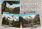 I Gignati Della Valle D'Aosta. Ediz. Fratelli Enrico - Rip. Vietata. Vera Fotografia - Aosta