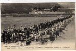 38 - VIENNE -  Manoeuvres De Pontage Sur Le Rhone - Pont Achevé , Passage Du 17éme Dragons - Vienne