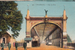 Dép. 67 - Strasbourg. - Pont Du Rhin. Animée. Colorisée. Tramway.  La Cigogne N° 350 - Strasbourg