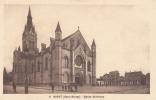 Dép. 79 - NIORT. - Eglise St-Hilaire. Animée. Ed. A La Civette N° 11 - Niort