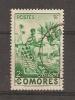 COMORES 1950/1952 / Femme Indigène  N° 4 Oblitéré Façiale 2 Francs Cote Inconnue / Prix Fixe - Non Classés
