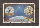 COMORES Poste Aérienne 1976 PA N° 104 1 Timbre Sur 3 Oblitéré : 100ème AnniV. 1ère Liaison Téléphonique - Non Classés