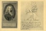 CPA - Voltaire - Le Premier Et Le Dernier Portrait De Voltaire - Ecrivains