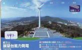 Télécarte Japon * MOULIN (497) WINDMILL * Phonecard * Mühle * TELEFOONKAART JAPAN * MOLEN - Landschappen