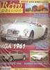 Rétro Passion N°143 (MGA 1961 Et Ferrari 250 GTE 1960) - Littérature & DVD