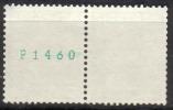 Zu 356RL.01 ** / MNH P1460 Paire Zu Spécial 5,25 à 20 % Voir Scans Recto/verso - Rollen