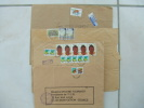 VEND QUATRE LETTRES D ´ OUGANDA  , N° 1708 X 5 - 915 X 7 - 920 - 1272 - 1624 - 903 - 2162 X 2 - Uganda (1962-...)