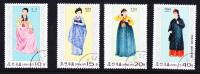 1977 -  Nordkorea  -  Koreanische Trachten ??  -  Siehe Scan  (n-kor 1002) - Textil