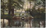 """Nederland/Holland, Zeist, Slotvijver Met """"Adam En Eva"""", 1909 - Zeist"""