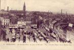 59 6 TOURCOING La Grande Place Un Jour De Marché - Tourcoing