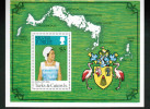 TURKS & CAICOS ILANDS, 1978, # 328, SILVER JUBILEE SHEETLET  MNH - Turks & Caicos (I. Turques Et Caïques)