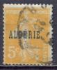 Algérie YT N°7 Semeuse Fond Plein Oblitéré ° - Used Stamps