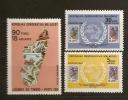 Madagascar 1981 N° 659 / 60 + PA 182 ** Union Postale Universelle, UPU, Timbre Sur Timbre, Logo, Camionette - Madagascar (1960-...)
