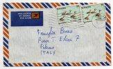 BOTSWANA  /  ITALIA  (Palermo)  - Cover_Lettera  1982 - AIR MAIL - Botswana (1966-...)