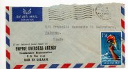 TANGANYIKA  /  ITALIA  (Palermo)  - Cover_Lettera  1962 - AIR MAIL - Tanzanie (1964-...)