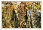 POSTCARD/ CARTE POSTALE / CARTOLINA CAMERUN - BANYO - DANZATORI BAMILEKE MASCHERATI - Camerun