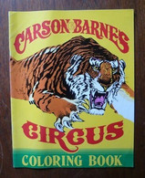 Carson & Barnes Circus Coloring Book - Other