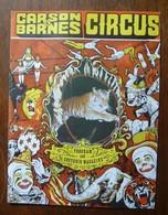 Programme De Cirque De Carson & Barnes Circus 1980 - Other