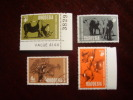 RHODESIA 1967 NATURE CONSERVATION  Full Set (4x4d Values) USED But With Full GUM And Hinge. - Rhodesia (1964-1980)