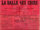 Tannerie, La Halle Aux Cuirs Journal 1905 Tres Nombreux Dessins Pub - Journaux - Quotidiens
