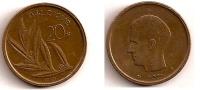 20 Francs – Belgique – 1980 – Légende Française – Nickel Bronze – Etat TTB – KM 159 - 1951-1993: Baudouin I