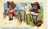 CASTELLI - LE PEINTRE ET SON MODELE, ENFANT - Comment S´achèvera Mon Tableau ? - Castelli