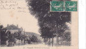 20653 Israel Plestine Jerusalem, Verlag Fried Chr Imberger. Année 1907 ! écornures ! - Israel