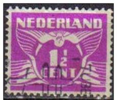 Holanda 1924-26 Scott 166 Sello º Gull Gaviota 1 1/2c Nederland Stamps Timbre Pays-Bas Briefmarke Niderland Francobolli - 1891-1948 (Wilhelmine)