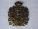 Plaque Casque Pompier 1852. - Casques & Coiffures