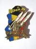 INSIGNE MILITAIRE ARTILLERIE OPEX HAWK TCHAD LA 3° BATTERIE DU  402° RA  Y.DELSART - Armée De Terre