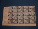 N° 1038 En Bloc  De 25  Timbres Neuf** - Full Sheets