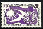 COTE DES SOMALIES 1958 N° 291 * * Neuf Lo T - 010 - Frans-Somaliland (1894-1967)